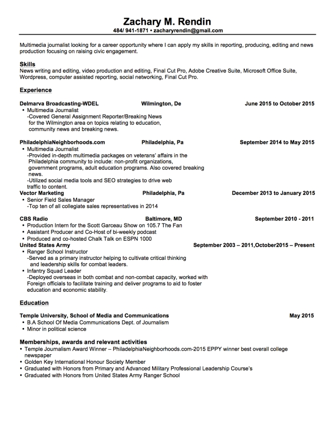 zacharyrendin_Resume_wed